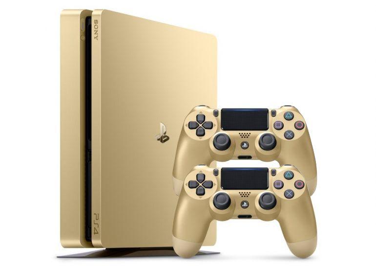 PlayStation 4 Slim 500Gb Золотая [PS4S5G2J]