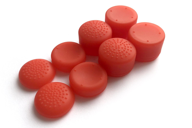 Набор накладок для DualSense на стики красные [PS5NSNR]