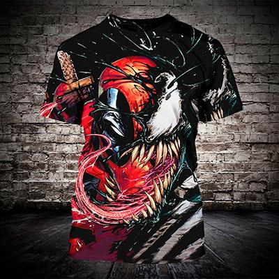 футболка веном #3 [ftb107]