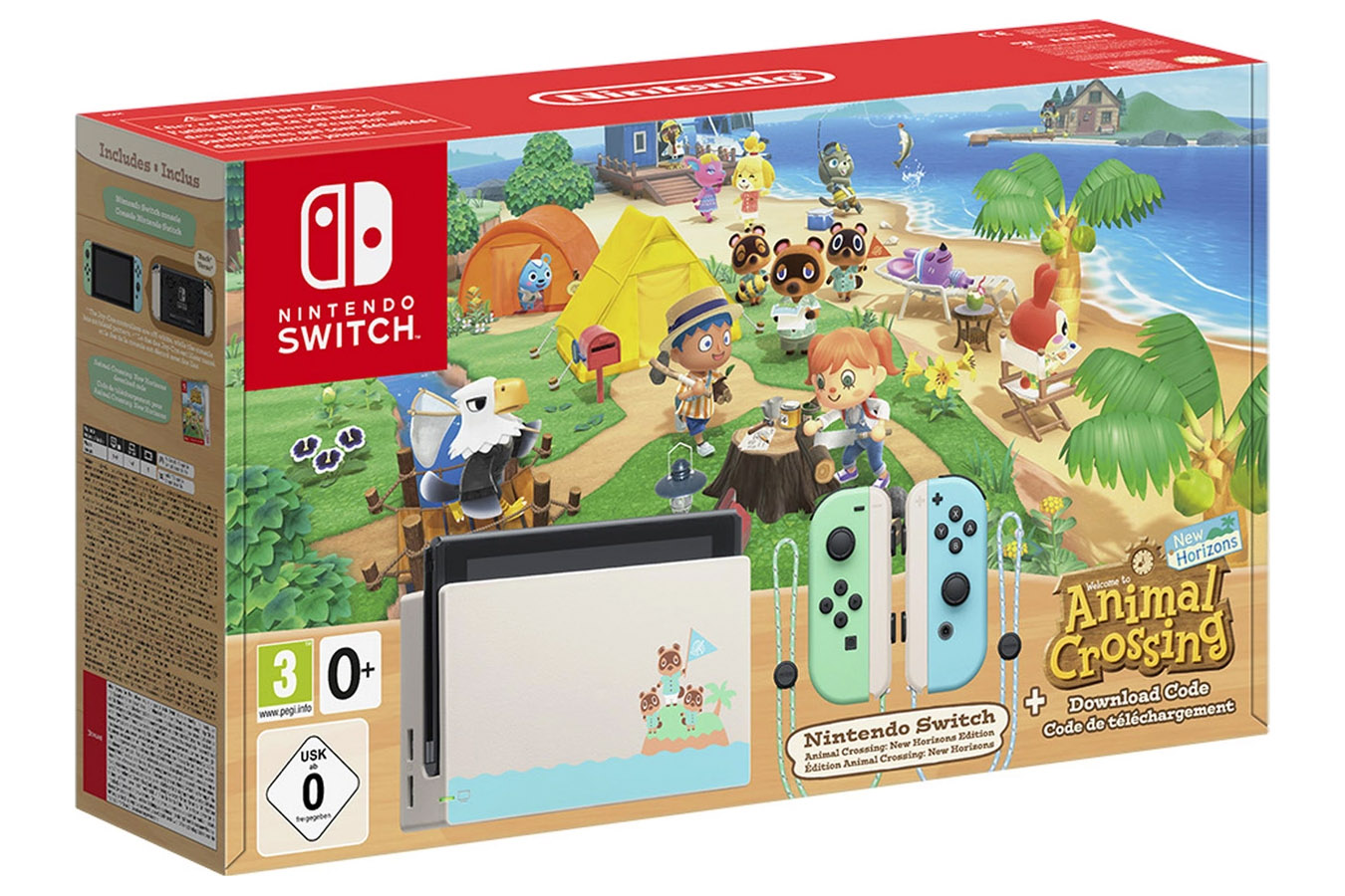 Nintendo Switch Animal Crossing: New Horizons особое издание [NSZANC]