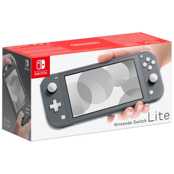 Switch Lite серая изображение 2