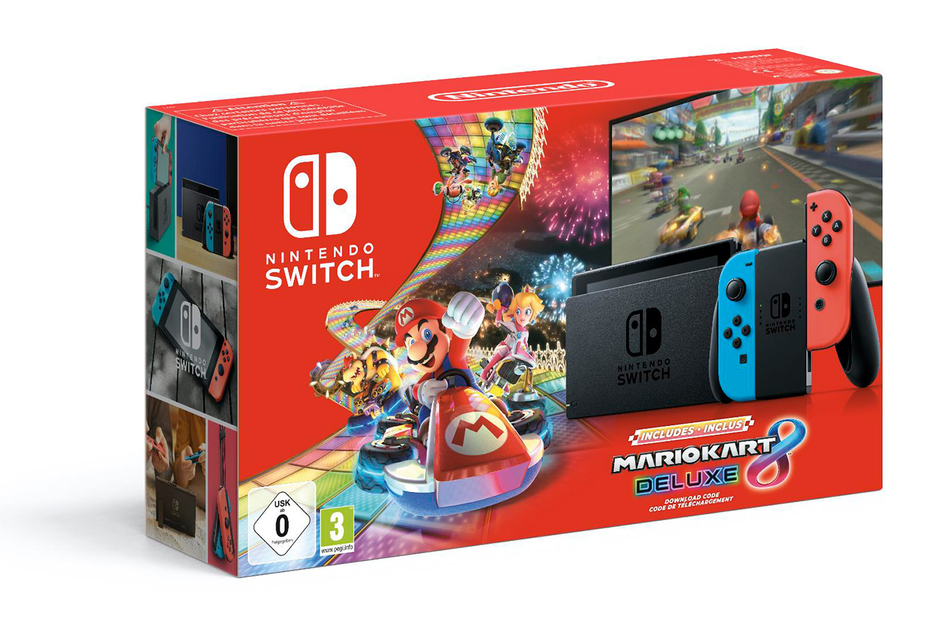 Nintendo Switch Bundle и Mario Kart 8 Deluxe [NSCNMK8]