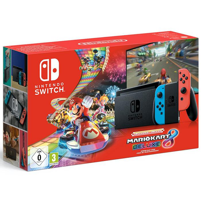 Switch и Mario Kart 8 Deluxe