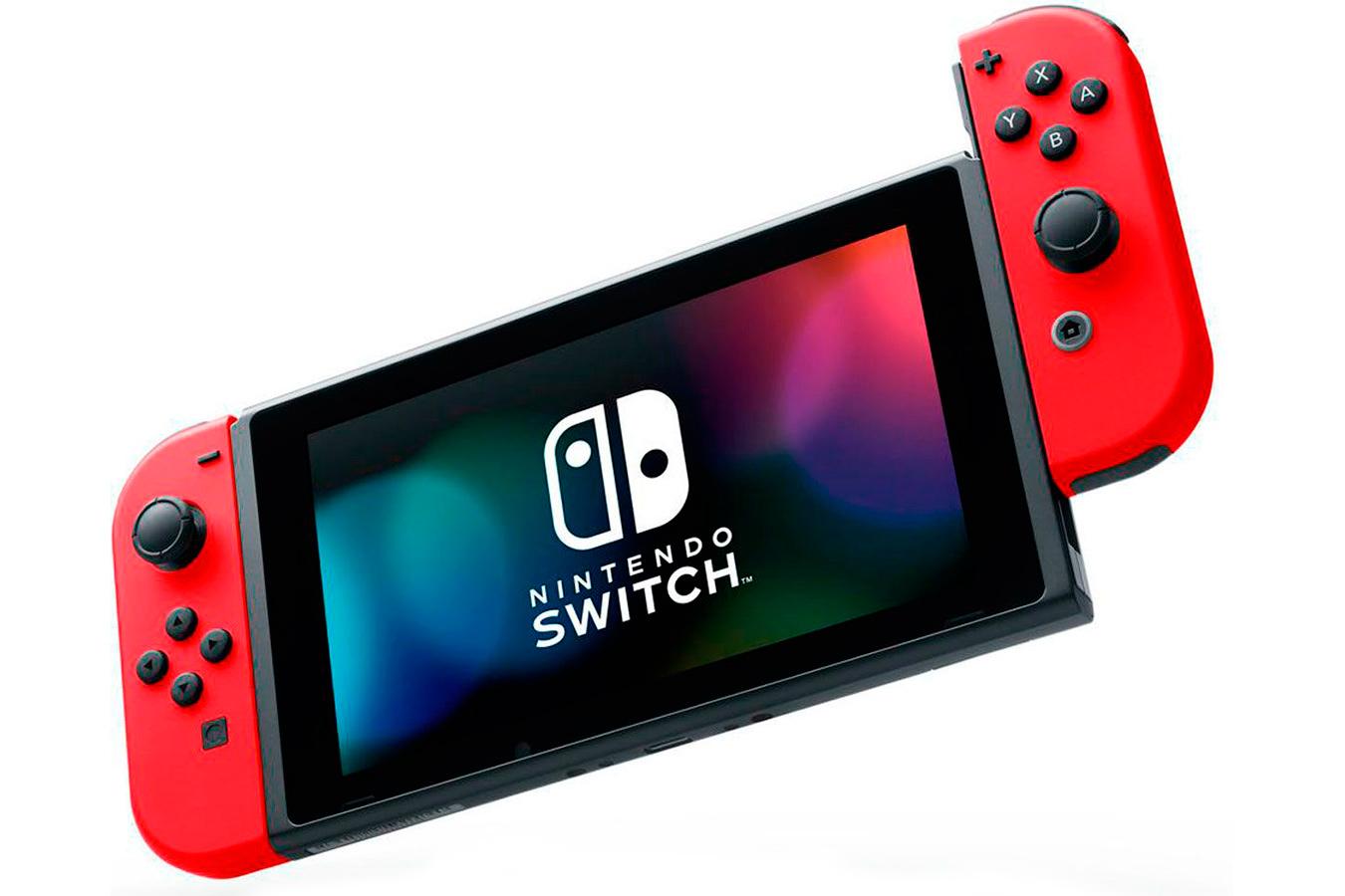 Switch красная и Mario Odyssey изображение 1