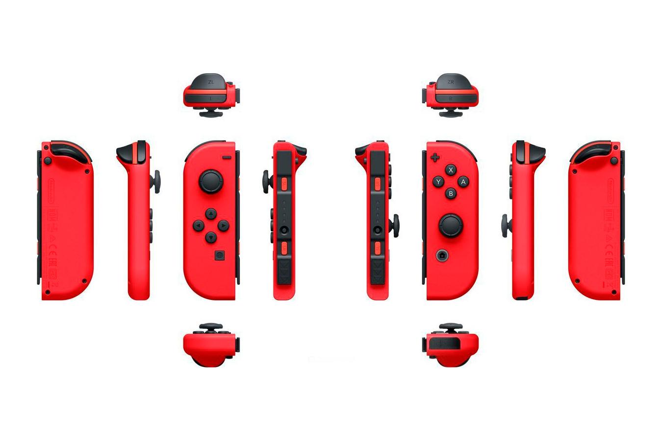 Switch красная и Mario Odyssey изображение 3