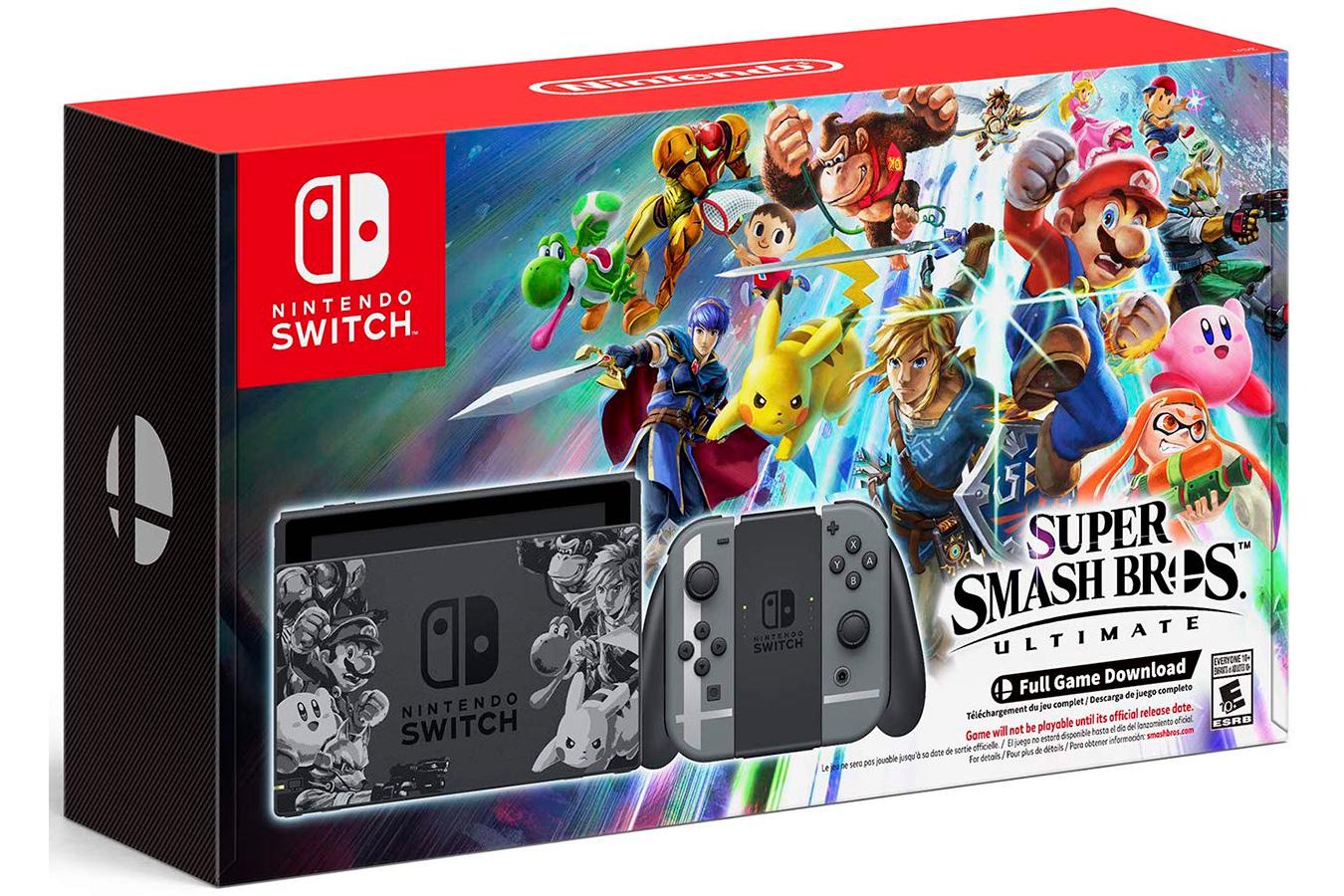 Switch Super Smash Bros изображение 0