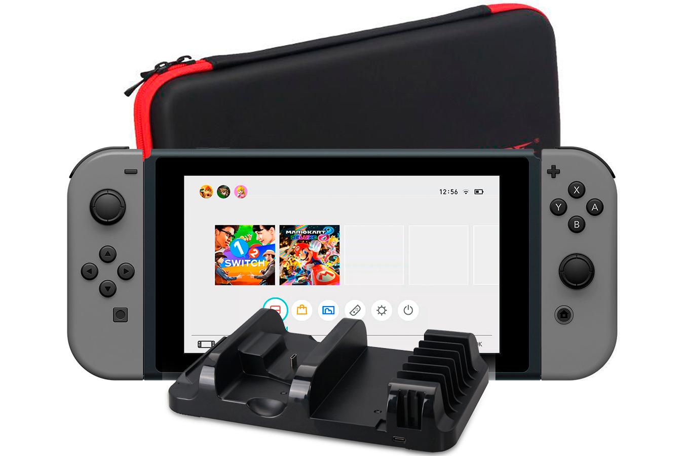 Nintendo Switch Мегапак серый [NSCMPG]