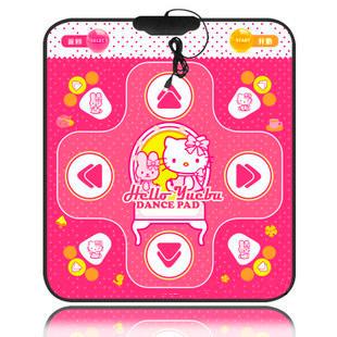 Танцевальный коврик розовый