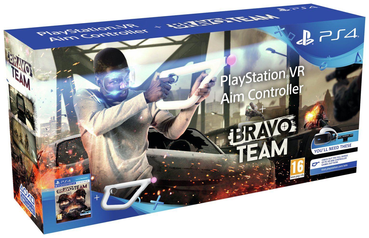 AIM Controller и игра Bravo Team для PlayStation VR [PSVR-BRT]