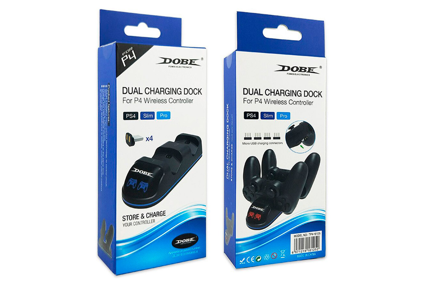 Беспроводная зарядка DualShock 4 изображение 4