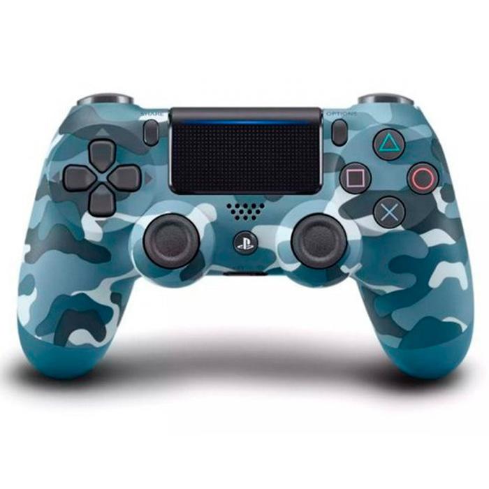 DualShock 4 синий камуфляж