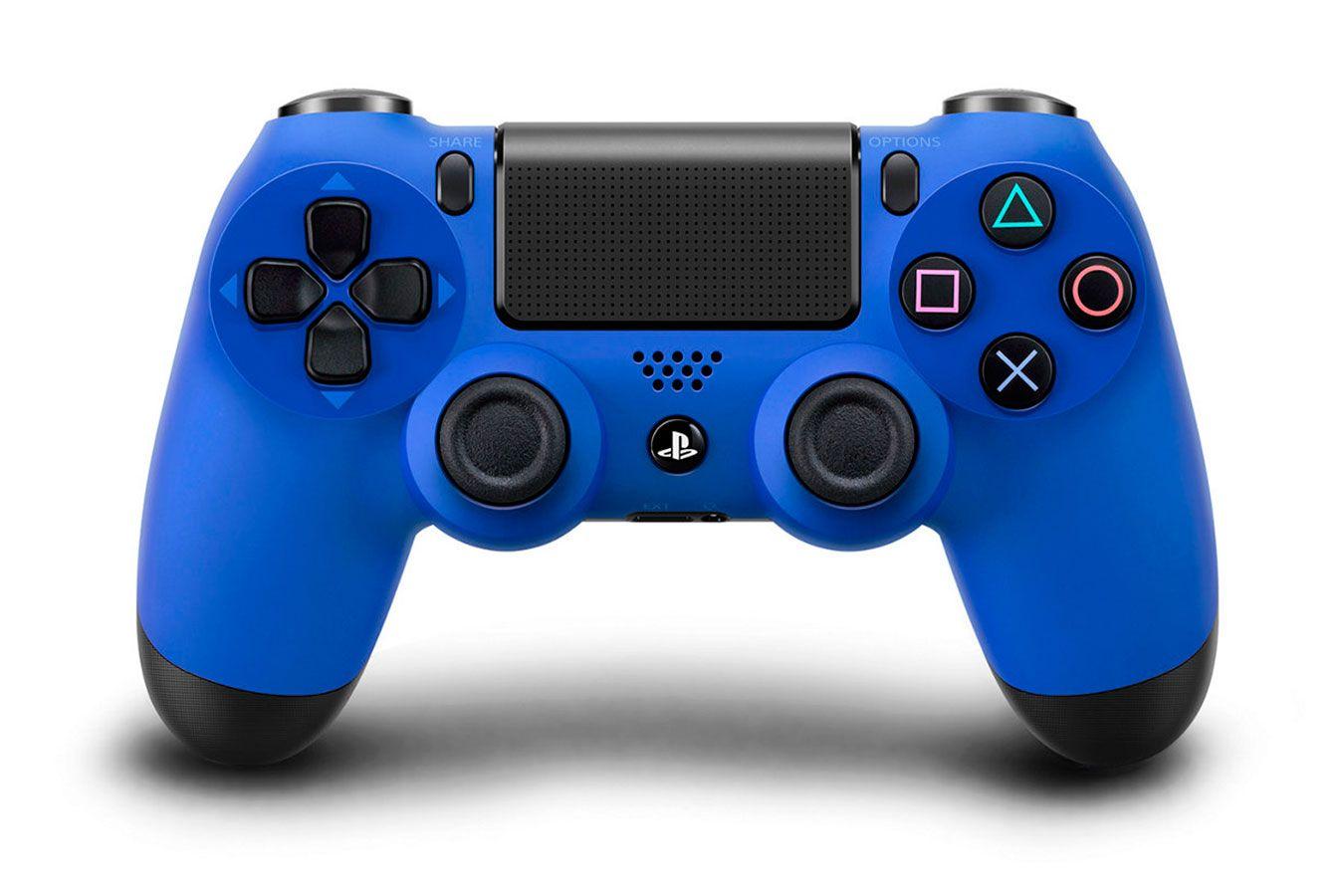 Sony DualShock 4 V2 геймпад для PS4 синий [PS4DSBL]