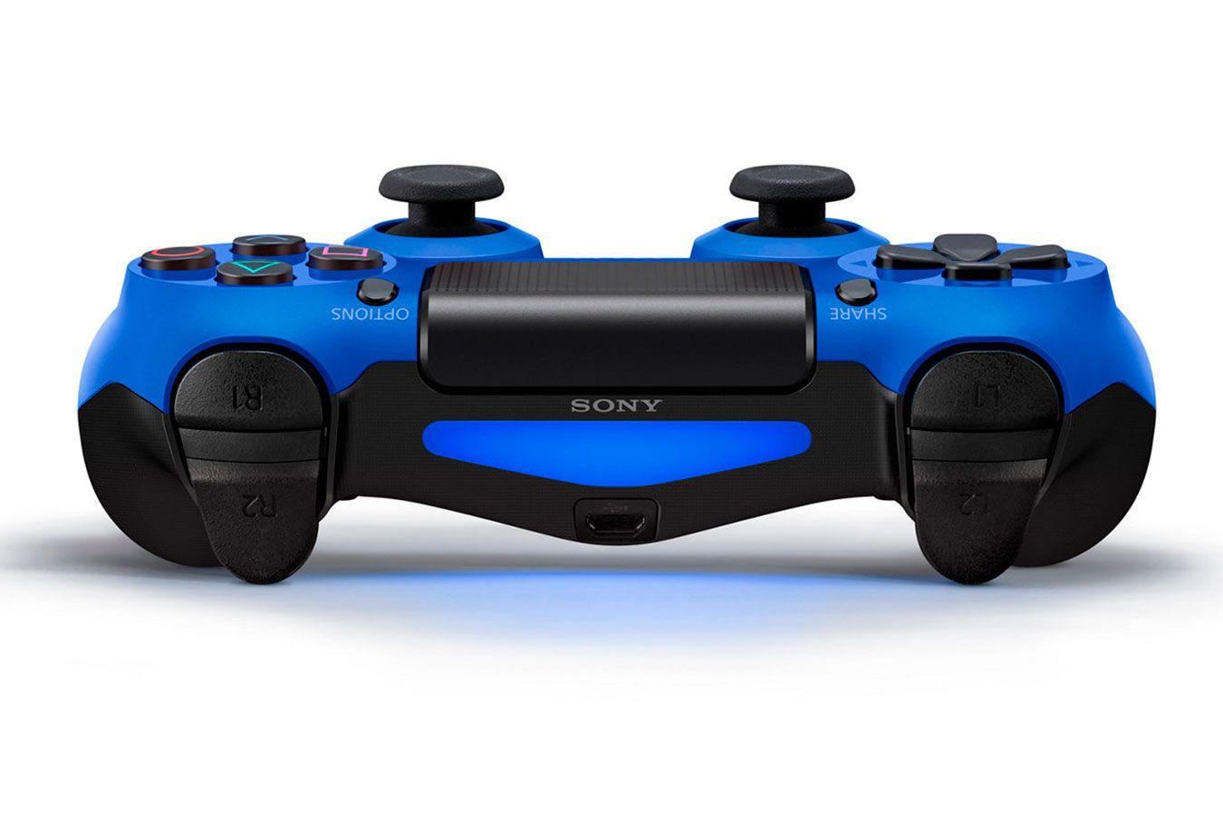 DualShock 4 синий изображение 1