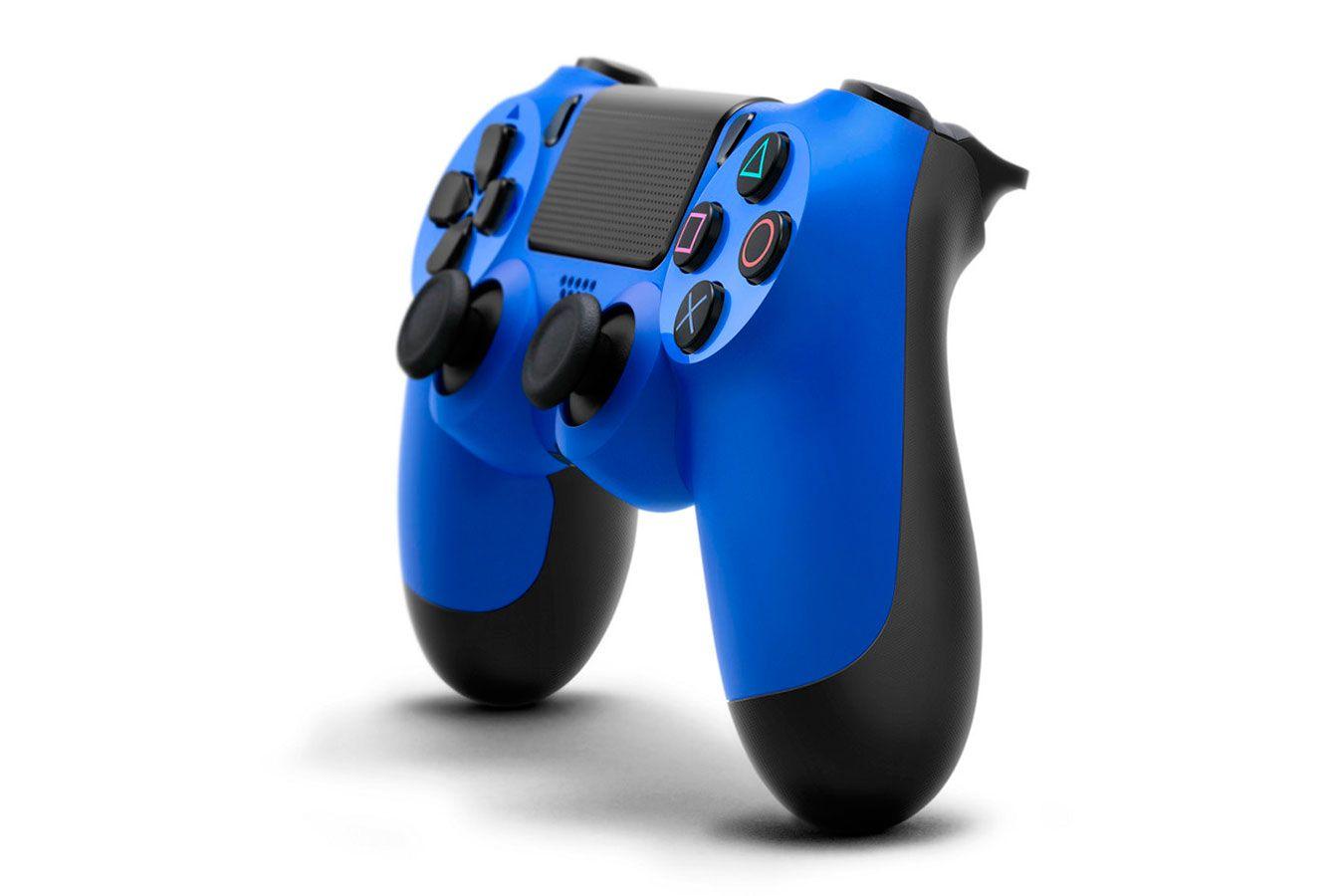 DualShock 4 синий изображение 3