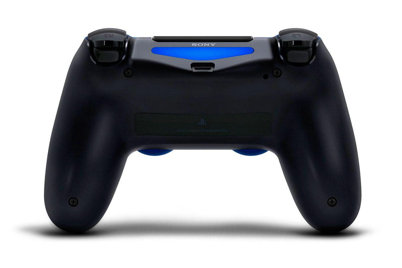 DualShock 4 синий изображение 4