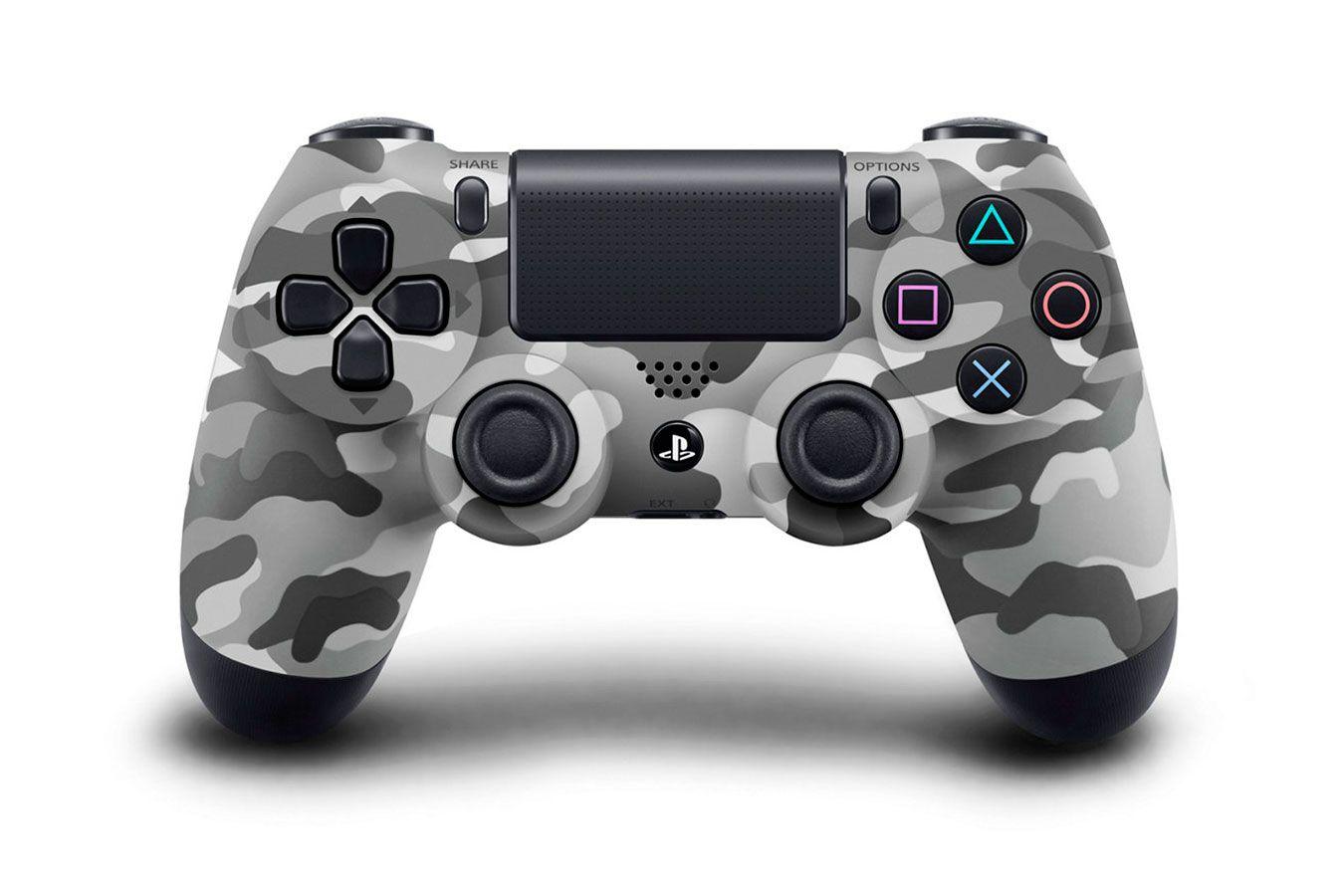 Sony DualShock 4 V2 геймпад для PS4 камуфляж [PS4DSH]