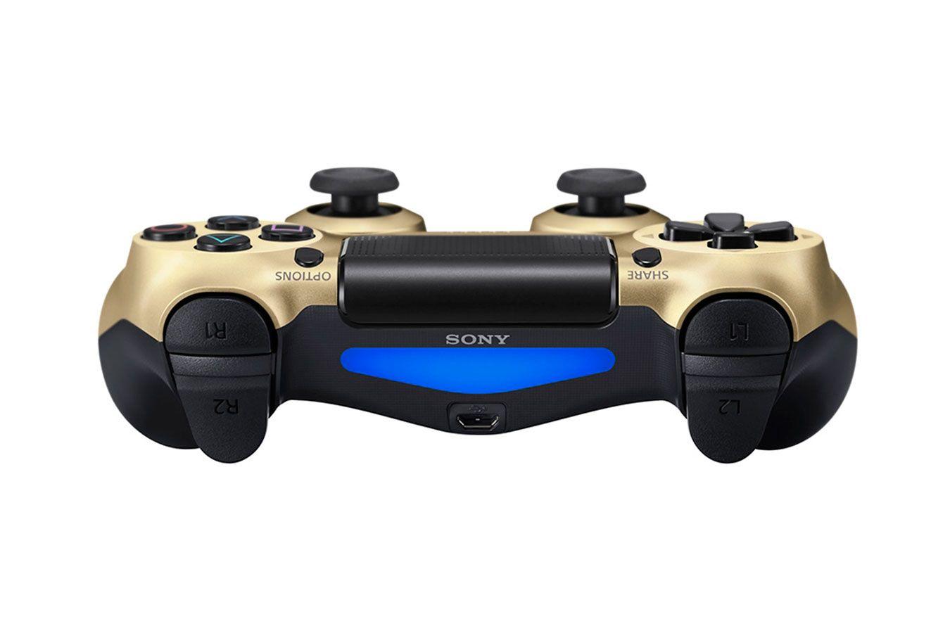 DualShock 4 золотой изображение 1