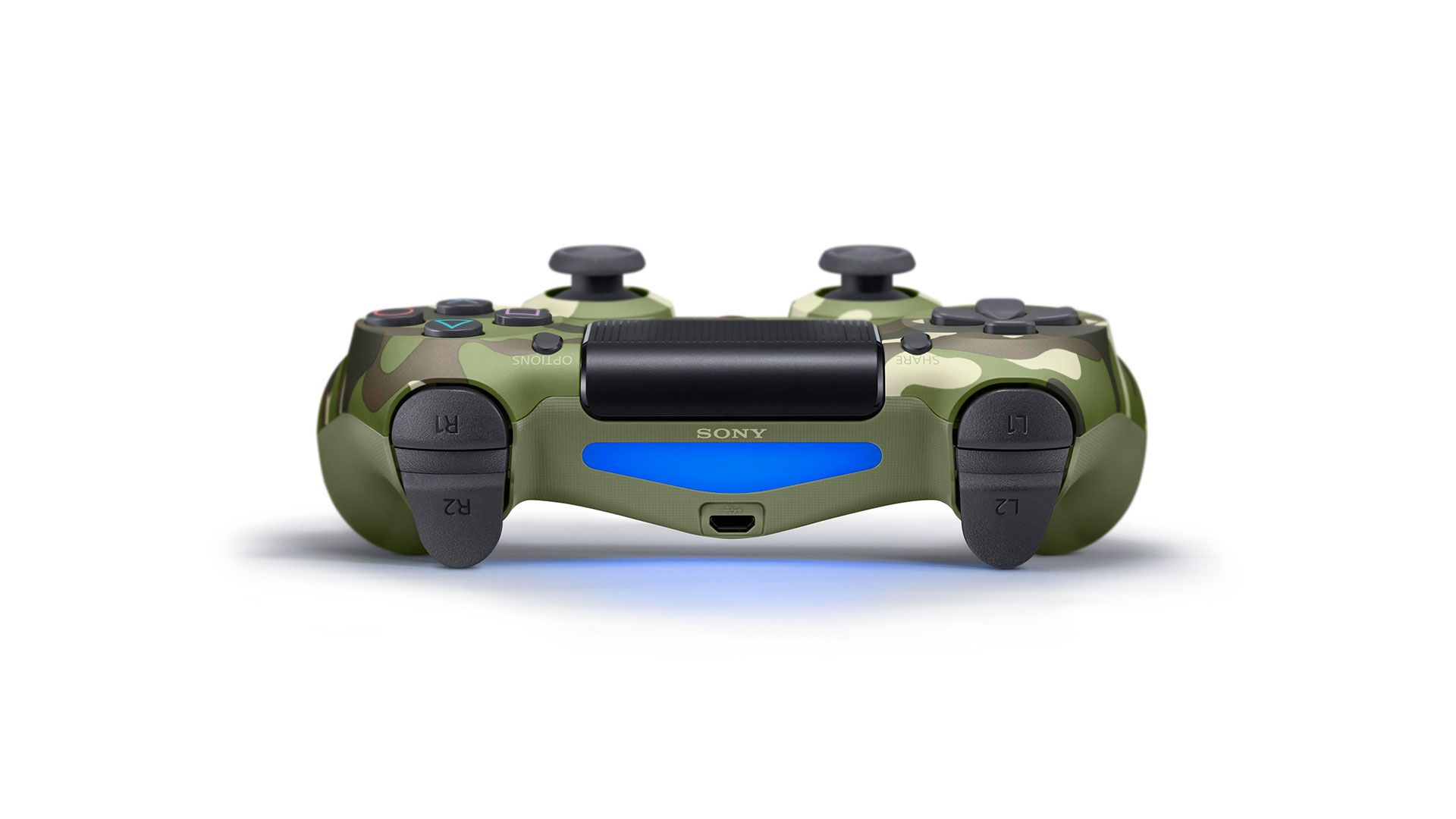 DualShock 4 зеленый камуфляж изображение 2