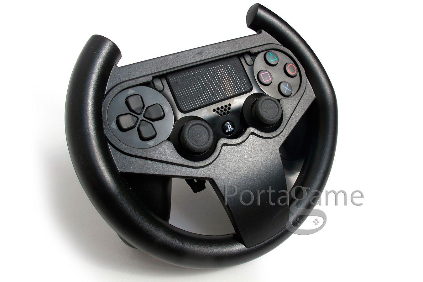 Руль для DualShock 4 черный [PS4JRR]