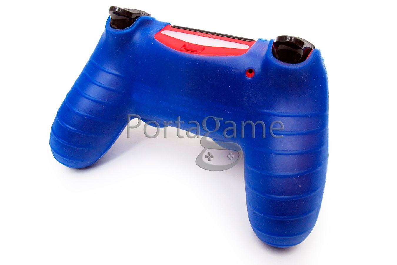 Чехол DualShock 4 синий изображение 0