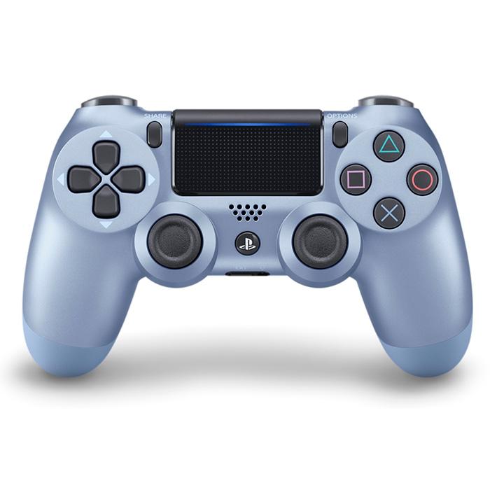 DualShock 4 титановый синий