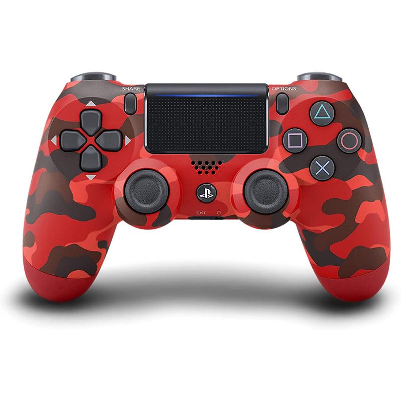 DualShock 4 красный камуфляж