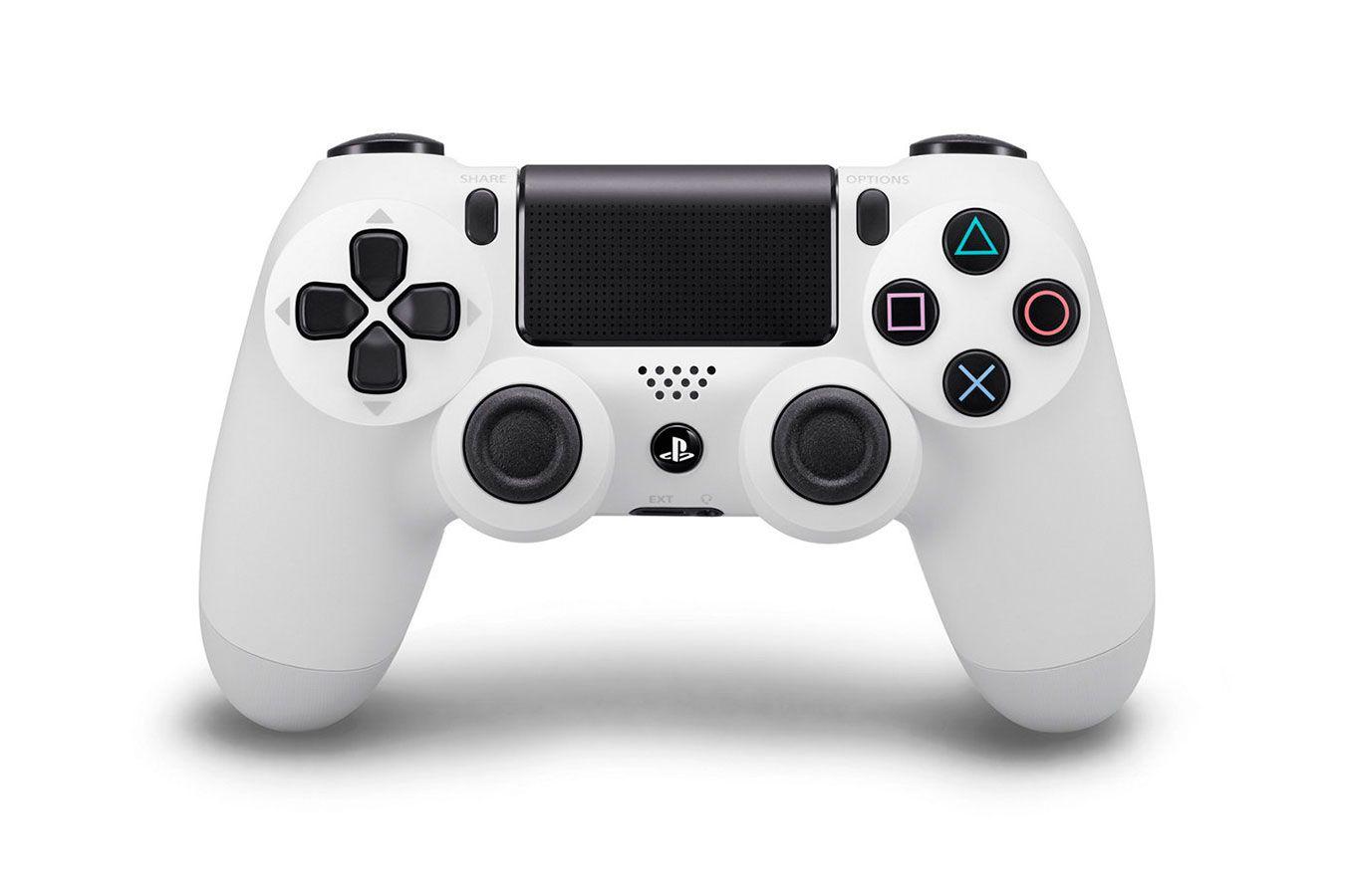 Sony DualShock 4 V2 геймпад для PS4 белый [PS4DSW]