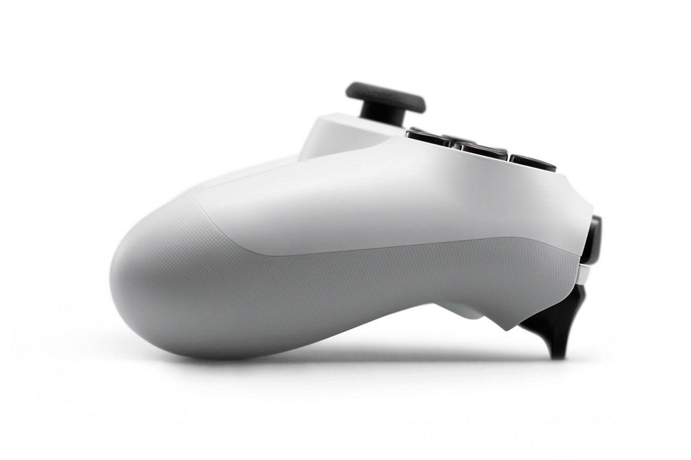 DualShock 4 белый  изображение 2