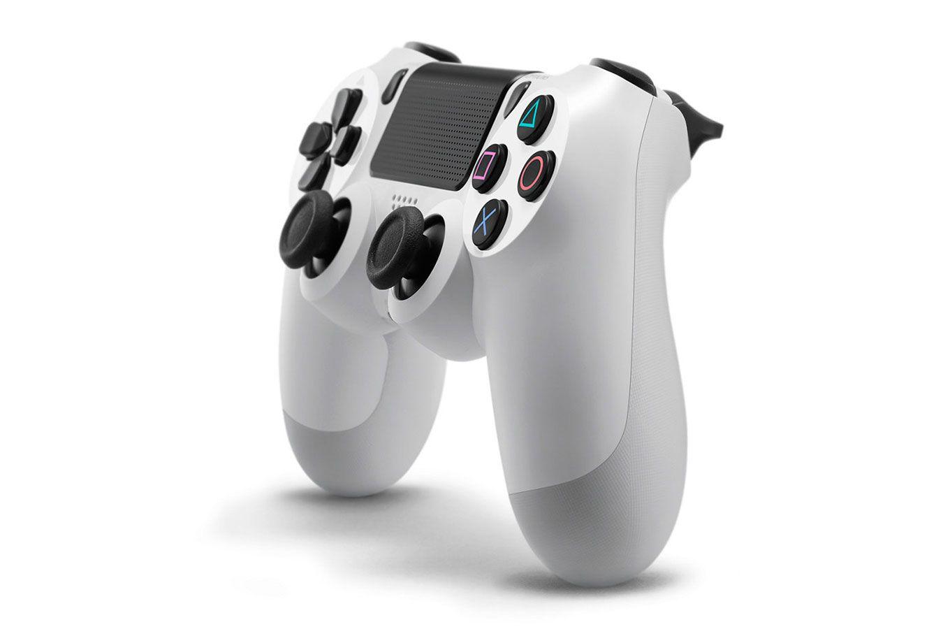 DualShock 4 белый  изображение 3