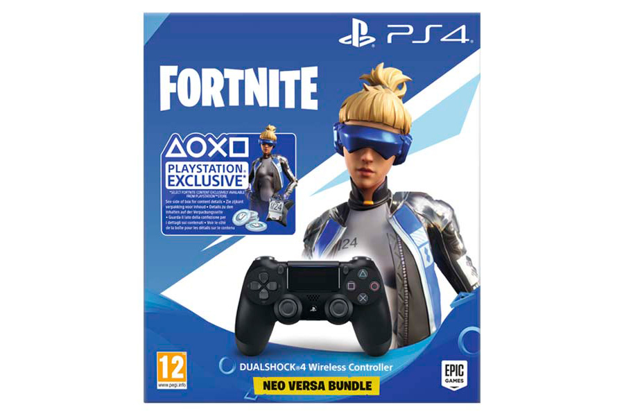 DualShock 4 V2 Fortnite Neo Versa Bundle геймпад для Sony PS4 [PS4DFNV]