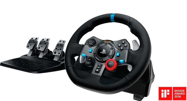 Logitech G29 Driving Force изображение 1