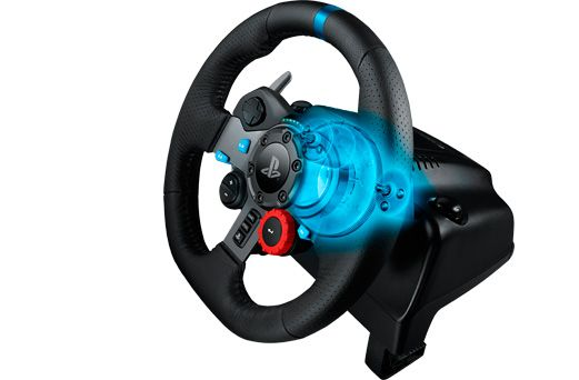 Logitech G29 Driving Force изображение 3