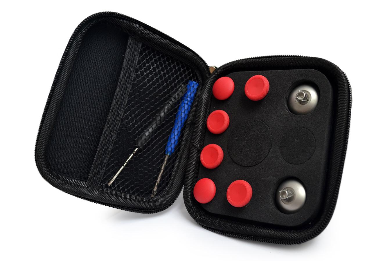 Съемные магнитные стики для DualShock 4, красные [PS4MGDR]