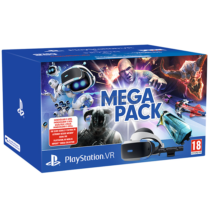 playstation vr mega pack v2 набор #1 [psvrlp2]