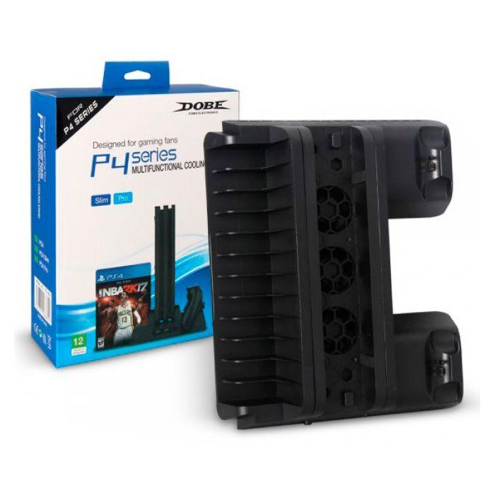 Вертикальный стенд TP4-882 для PlayStation 4 с системой охлаждения [PS4882]