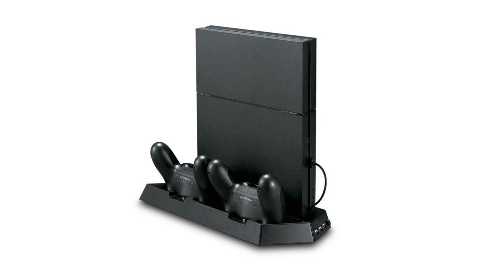 Вертикальный стенд с зарядкой для PlayStation 4 и PlayStation 4 slim изображение 2