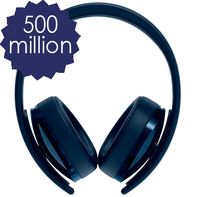 500 Million Limited Stereo Headset