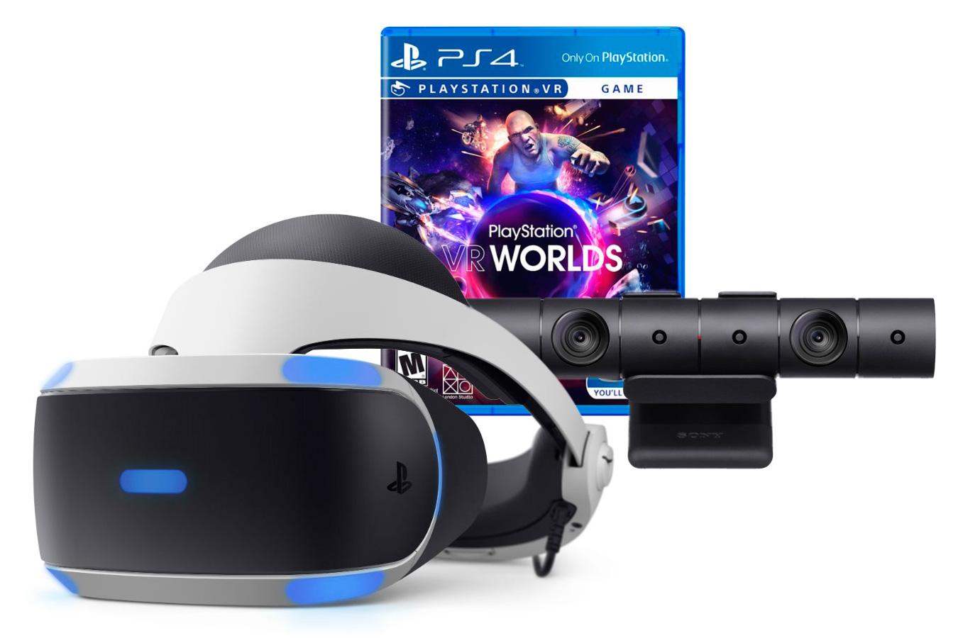 Sony Шлем PlayStation VR стартовый набор [PSVR-MB]