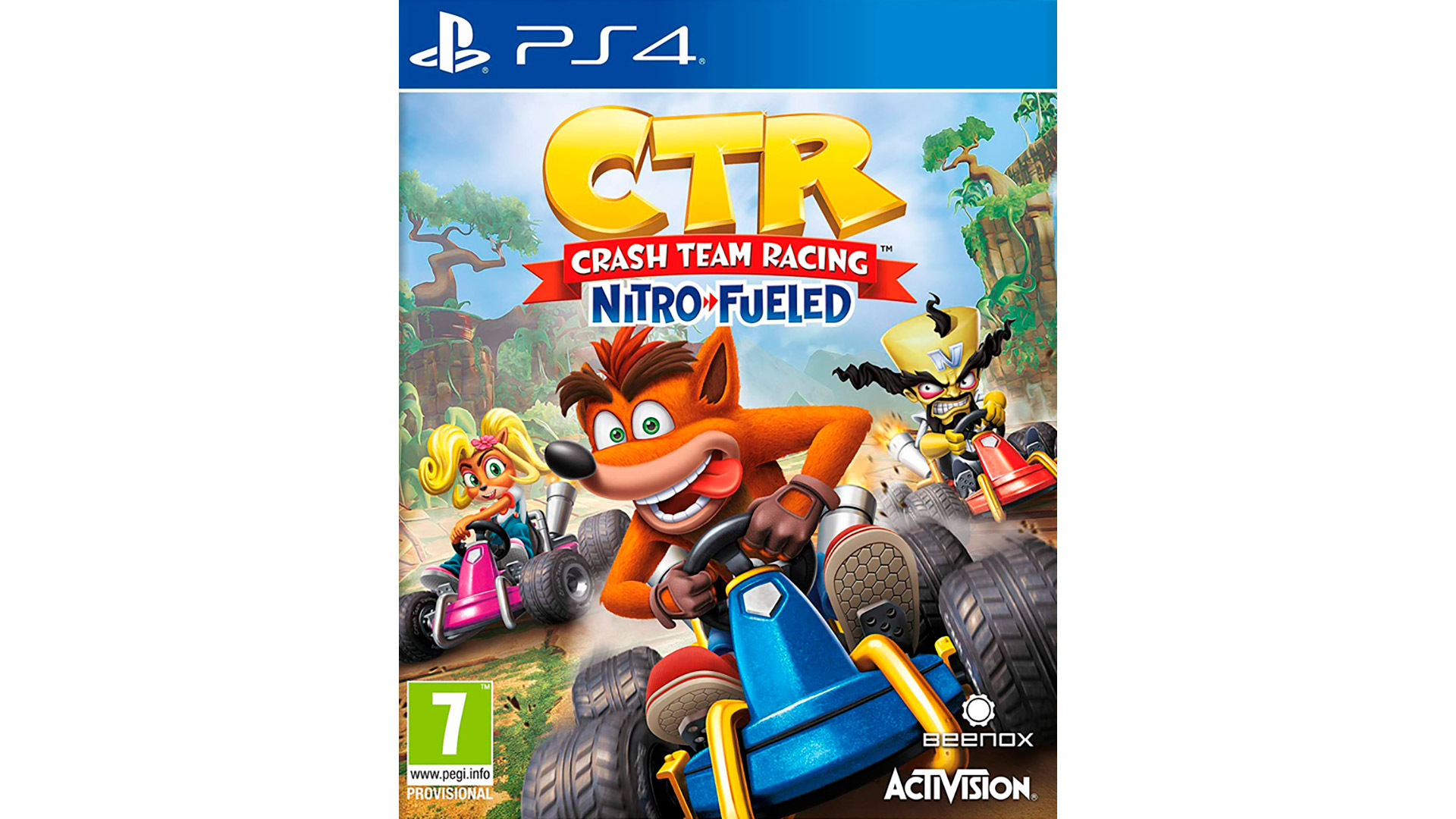 Crash Team Racing Nitro-Fueled игра для PlayStation 4
