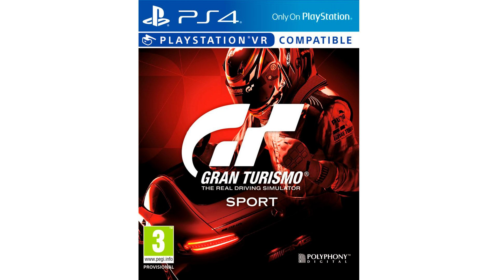 Gran Turismo Sport игра на PlayStation VR [PS4BAVR]