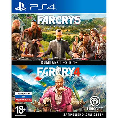 Комплект Far Cry 4 и 5