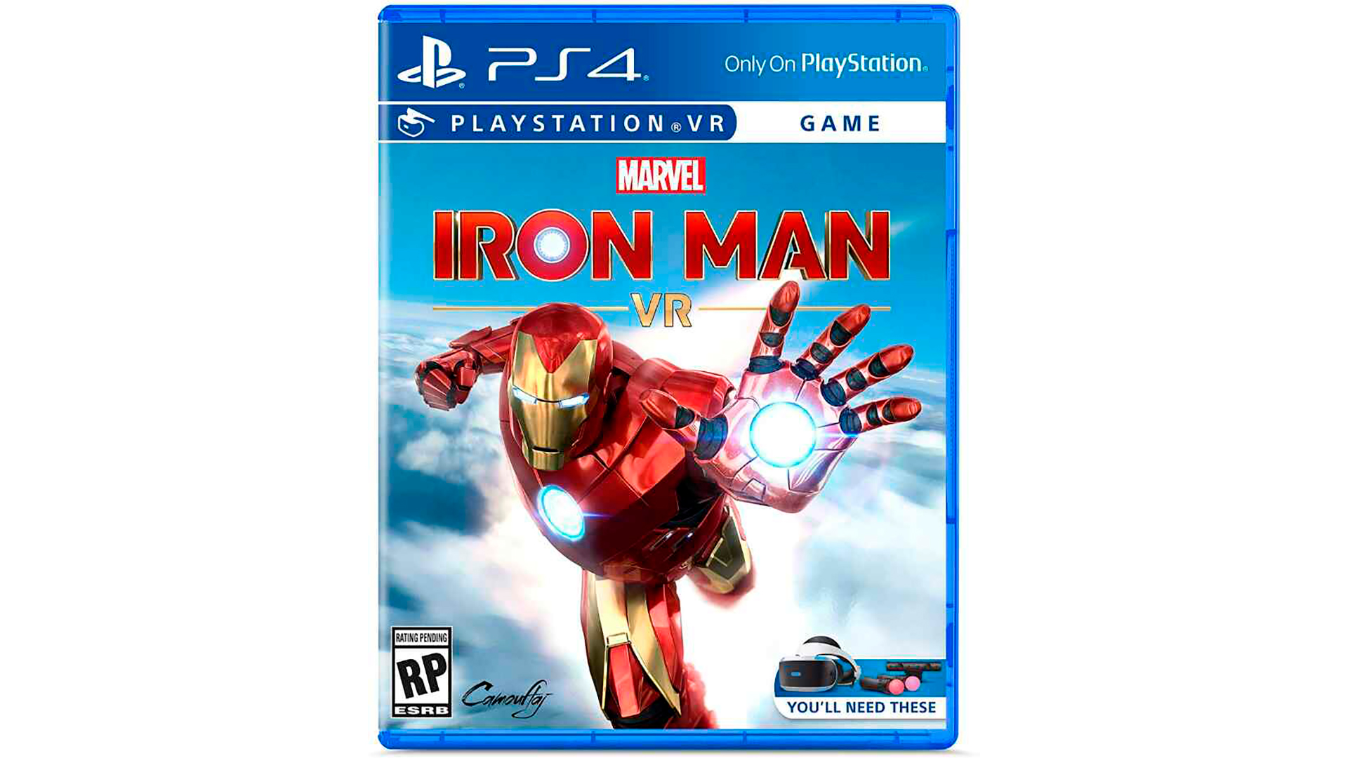 Marvel's Iron Man VR игра на PlayStation VR [PS4GIRV]