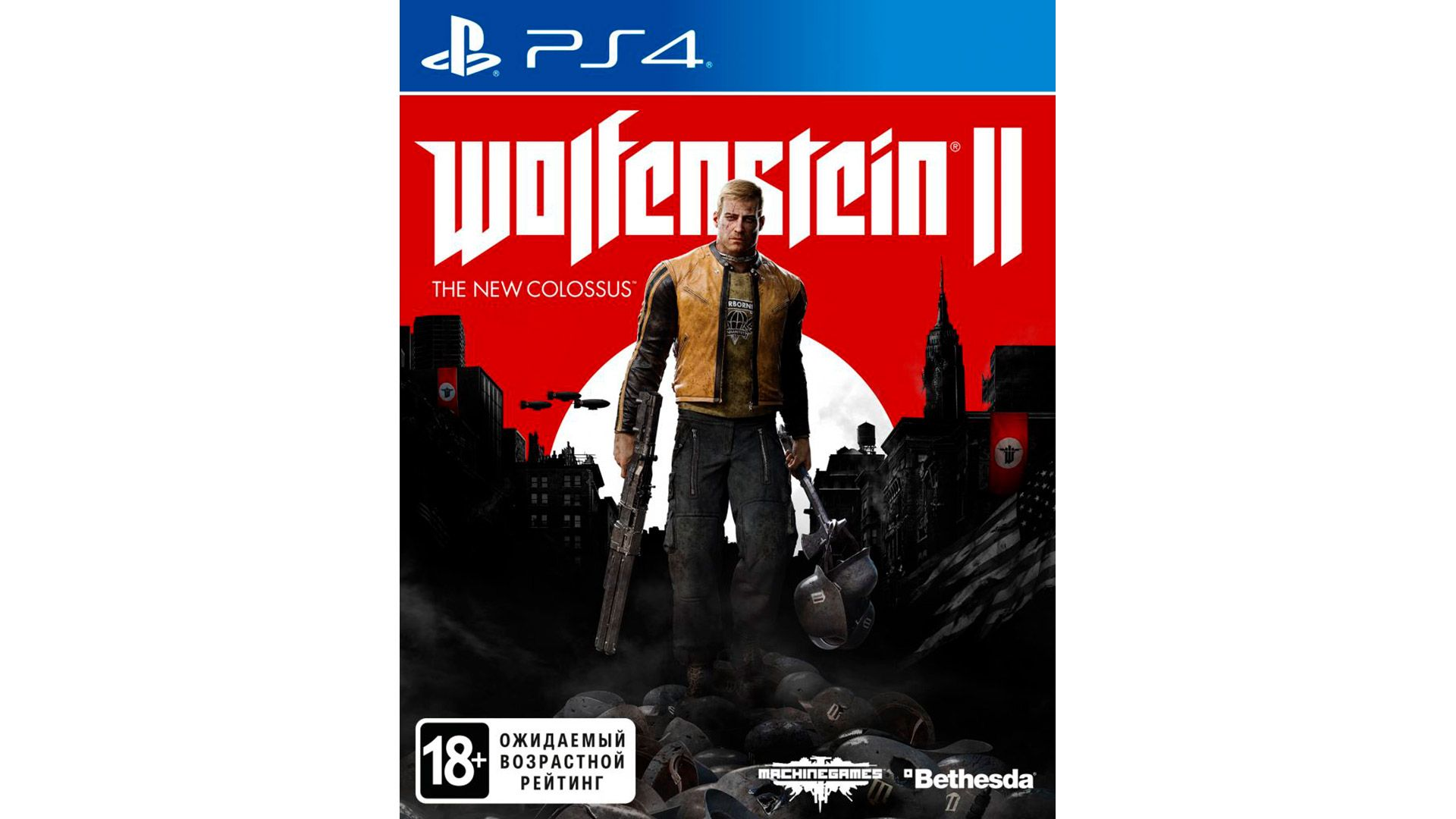 Wolfenstein II: The New Colossus для Sony PlayStation 4 [PS4WNC]