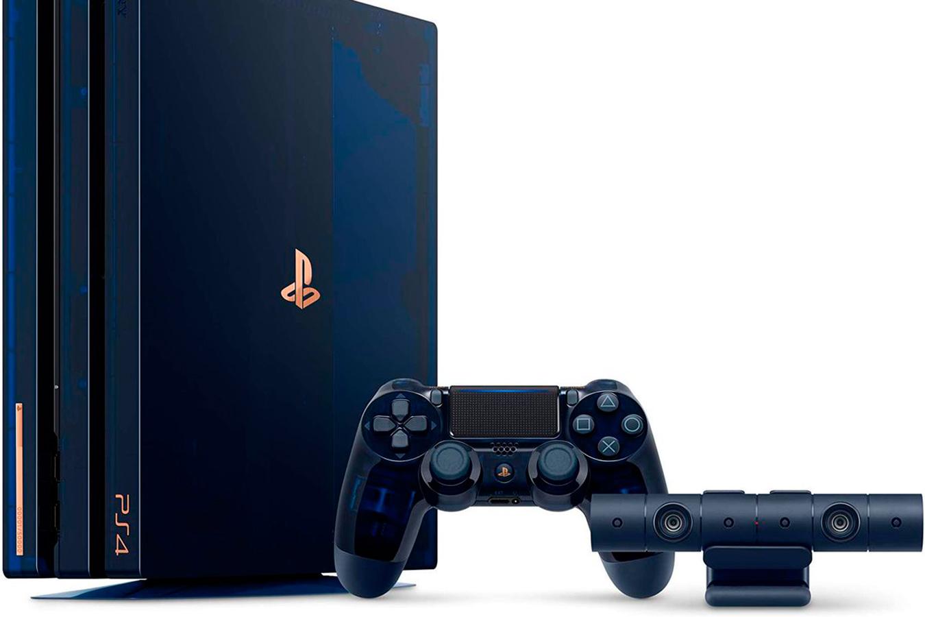 PlayStation 4 PRO 500 Million Limited Edition 2Tb приставка [PS4P500MLP]