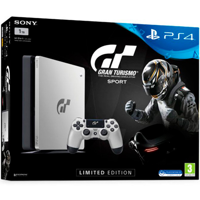 PS4 Slim 1Tb Limited GT Sport