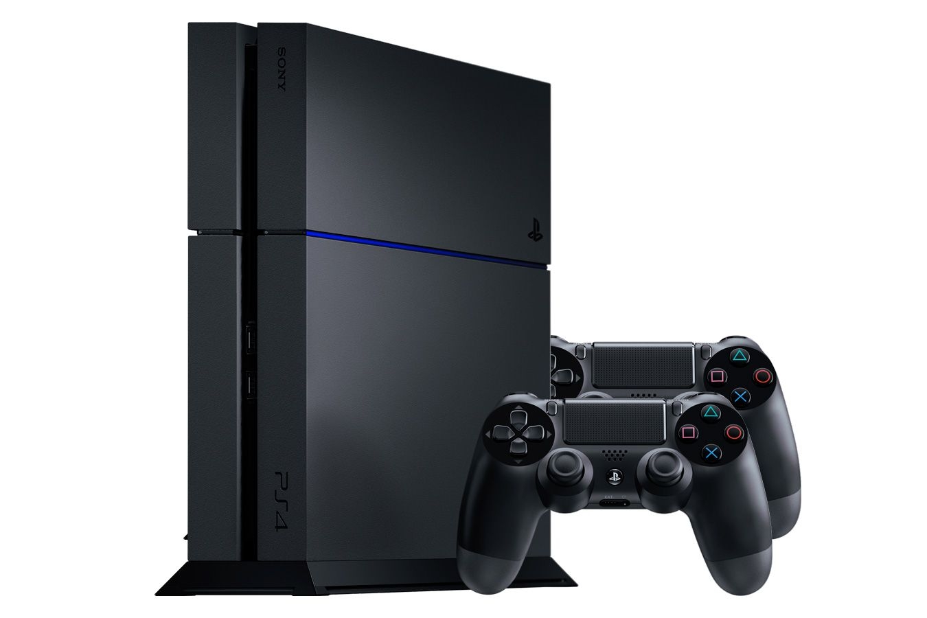 PlayStation 4 1Tb игровая приставка и 2 джойстика [PSF41J2]