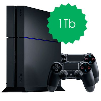 PlayStation 4 1Tb 2 джойстика