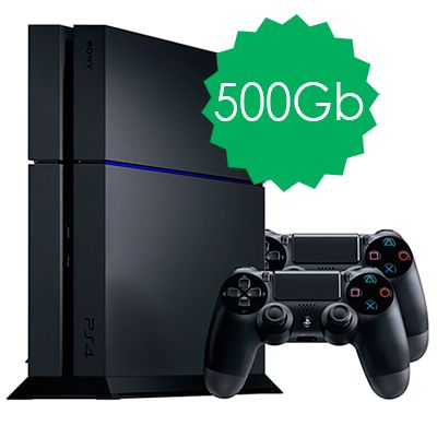PlayStation 4 500Gb 2 джойстика