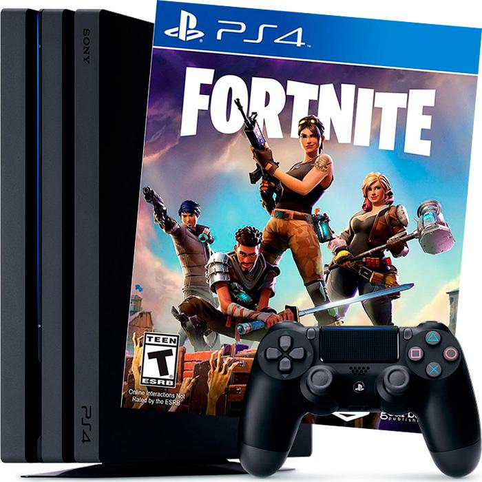 PS4 Pro и Fortnite