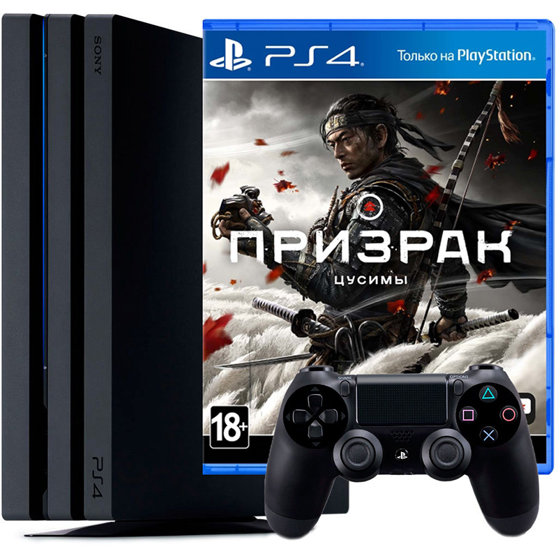 PS4 Pro и Призрак Цусимы